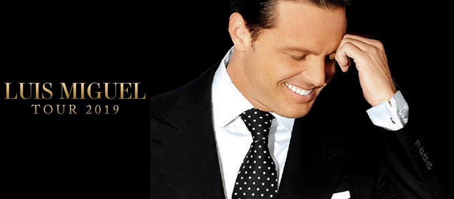 Luis Miguel at Centre Bell