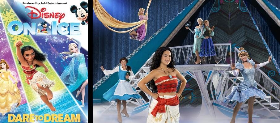 Disney On Ice Dare To Dream Tickets Calendar Mar 2018