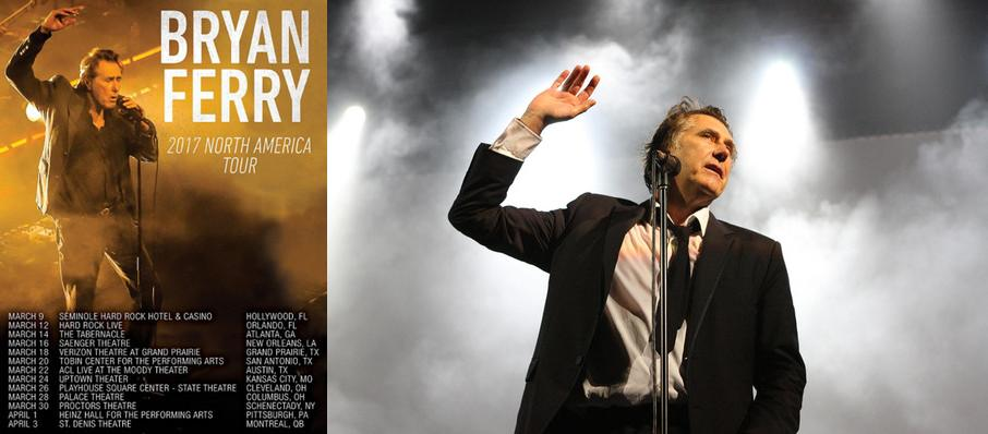 Bryan Ferry at Theatre St. Denis