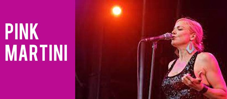 Pink Martini at Salle Wilfrid Pelletier