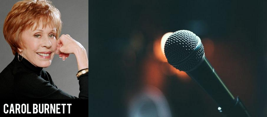Carol Burnett at Theatre St. Denis