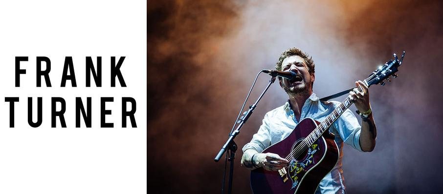 Frank Turner at Corona Theatre