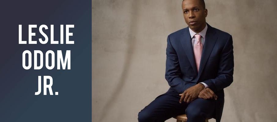 Leslie Odom Jr. at Theatre Maisonneuve