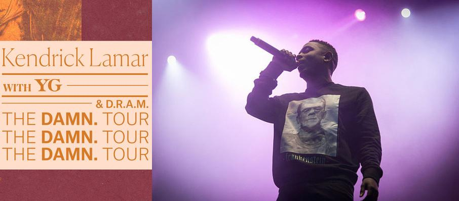 Kendrick Lamar with YG and DRAM at Centre Bell