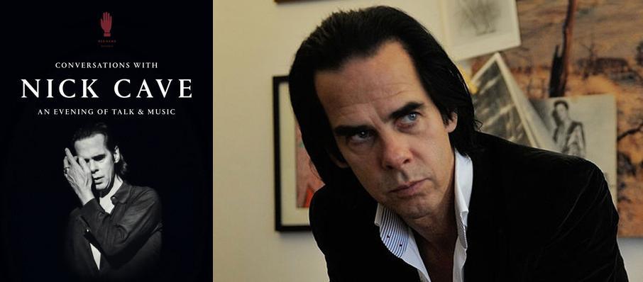Conversations with Nick Cave at Le Saint-Jean-Baptiste
