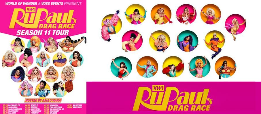 RuPaul's Drag Race at Theatre Olympia