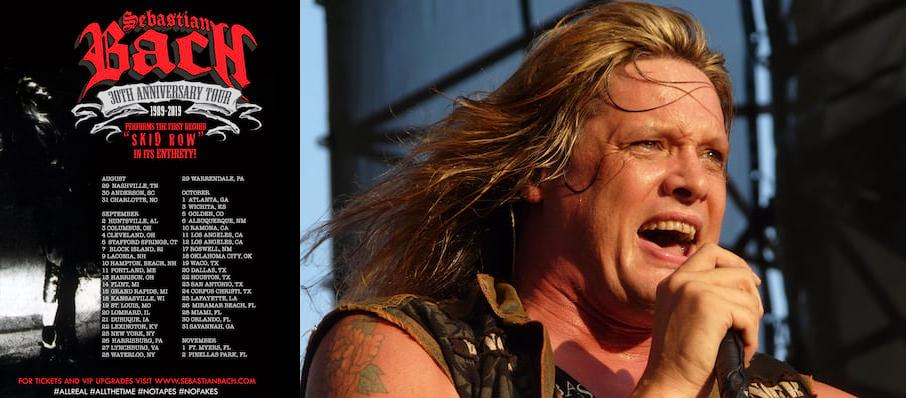 Sebastian Bach at Corona Theatre