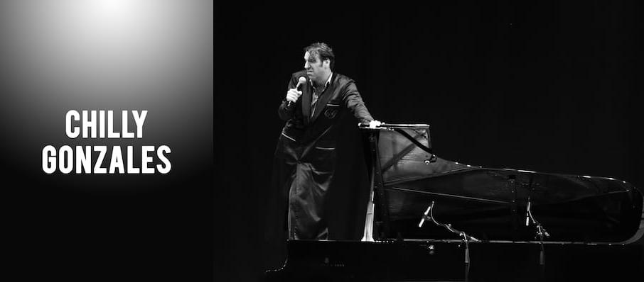 Chilly Gonzales at Theatre St. Denis