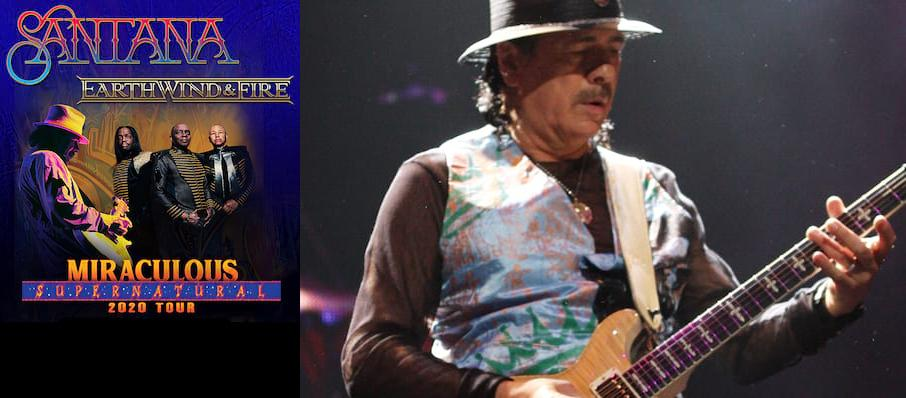 Santana with Earth Wind and Fire at Centre Bell