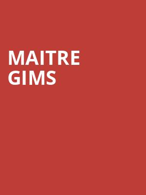 Maitre Gims at Theatre Olympia