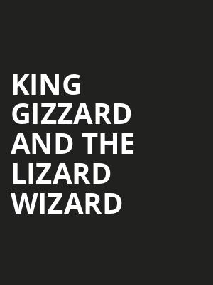 King Gizzard and The Lizard Wizard, Theatre Olympia, Montreal