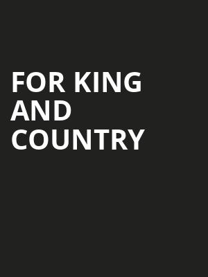 For King And Country, Theatre St Denis, Montreal