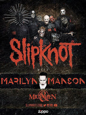 Slipknot Marilyn Manson Of Mice and Men, Centre Bell, Montreal
