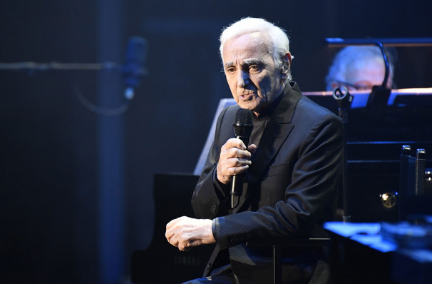 Charles Aznavour, Centre Bell, Montreal